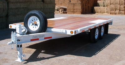 Bumper Pull Flatbed